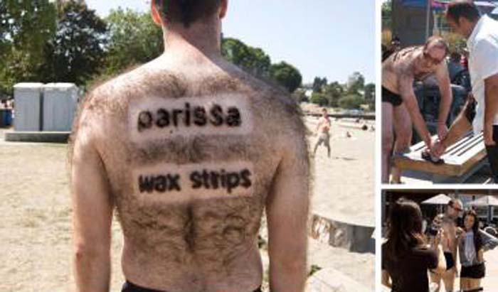 guerilla marketing_parissa_wax
