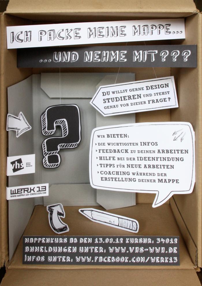 Mappenkur_VHS Witten_Werk13_Design